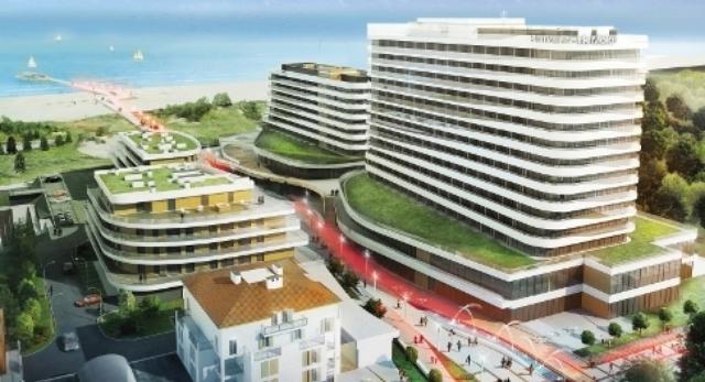 Świnoujście: Baltic Park Molo, hotele nad morzem. Budowa inwestycji Zdrojowej Invest rusza przed wakacjami.