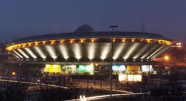 Katowicki Spodek - ikona modernizmu w Katowicach