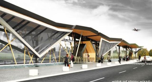 Architektura lotniska w Szymanach. Zobaczcie projekt który wygrał konkurs!