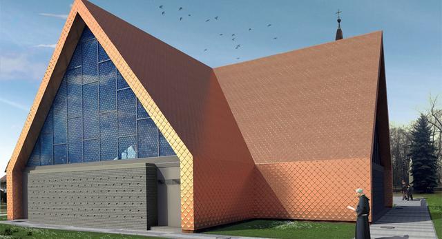 Kościół w Rokietnicy - architektura według Front Architects. Widzieliście taki kościół w Polsce? Rewitalizacja już trwa!
