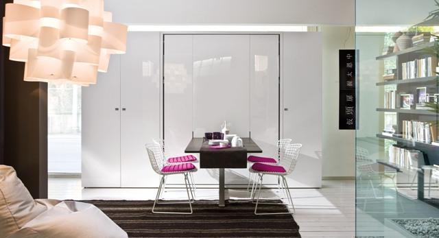 Kawalerki i małe mieszkania - Clei stworzone do małych wnętrz. Zobaczcie meble, które zmieniają funkcje. Galeria zdjęć