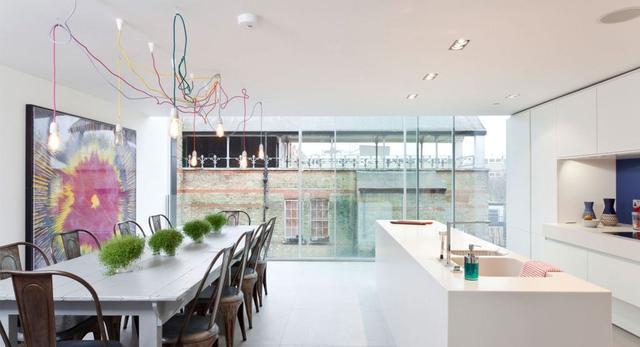 Co zobaczyć w Londynie. Zobaczcie architekturę nowoczesnego domu w wieży ciśnień. The Water Tower- galeria zdjęć