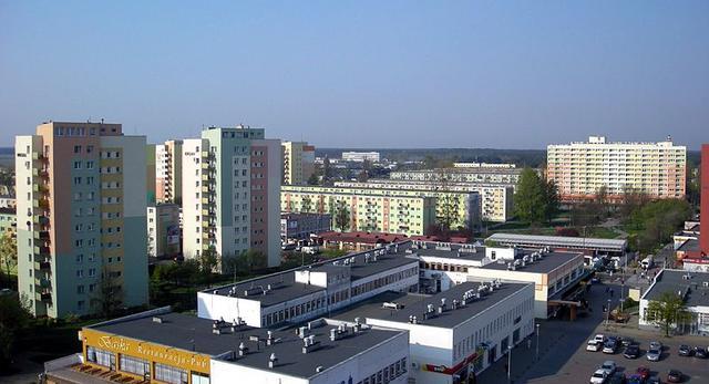 Modernistyczne osiedle w Bydgoszczy