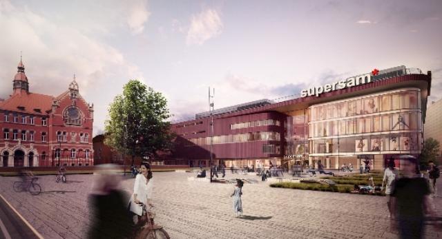 Architektura Katowic. Nowy Supersam rusza budowa centrum handlowego projektu Konior Studio