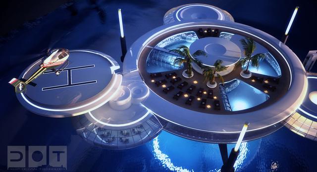 Podwodny hotel Water Discuss zaprojektowali polscy inżynierowie