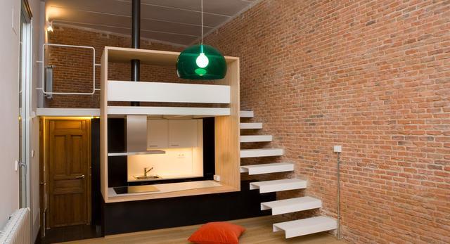 Małe mieszkaniew Madrycie