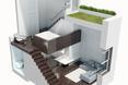 Wizualizacja całego małego mieszkania