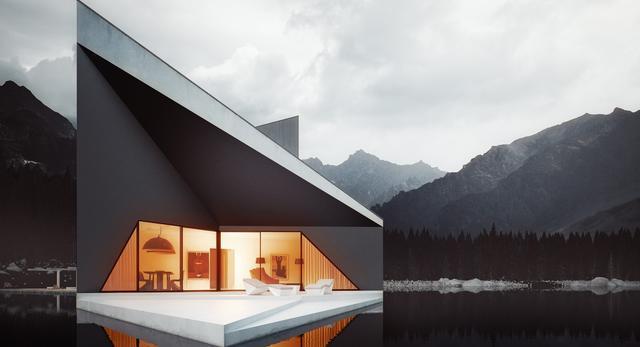 Architektura. Projekt domu autorstwa architektów z 81.WAW.PL. Zobaczcie bryłę, która ma stanąć w górach