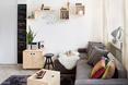 Wnętrze małego mieszkania od Inside Story