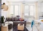 Architektura wnętrz. Jak zaprojektować małe wnętrze? Zobacz pomysł aranżacji małego mieszkania od pracowni Inside Story!