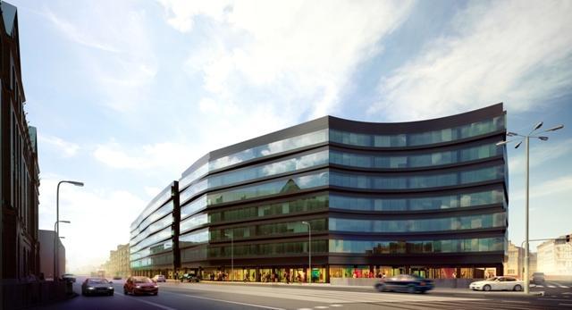 Architektura Wrocławia. Nowy projekt bryły autorstwa medusagroup. We Wrocławiu rusza budowa największego biurowca Skanska