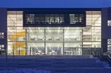 Architektura Białegostoku. Bryła Centrum Nowoczesnego Kształcenia projektu aa_studio czerpie inspiracje z sztuki ludowej. Zobaczcie architekturę CNK. Galeria zdjęć!