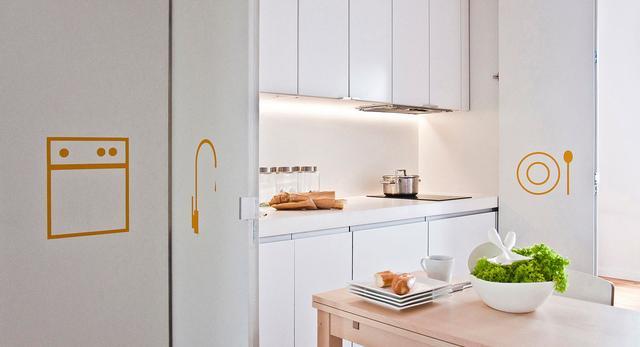 Kawalerki i małe mieszkania. Jak PL.architekci meblami Ikea zaaranżowali nietypową kawalerkę na wynajem