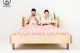 Design. Pierwsze z prezentowanych łóżek, nazwa - Łasuch