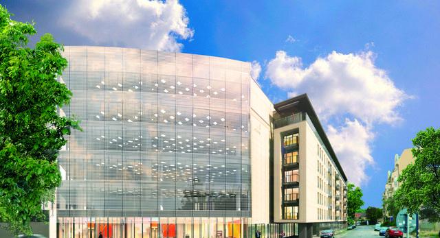 Architektura Poznania. Nowoczesna bryła w centrum Poznaniu. Zobaczcie budynek mieszkalny, który powstaje obok Starego Rynku w Poznaniu