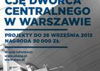 Konkurs na identyfikacje Dworca Centralnego. Konkurs PKP na logo Dworca: zgłaszenia do 26 września!