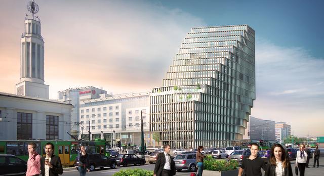 Oto ostateczna bryła budynku Bałtyk projektu holenderskiej pracowni MVRDV