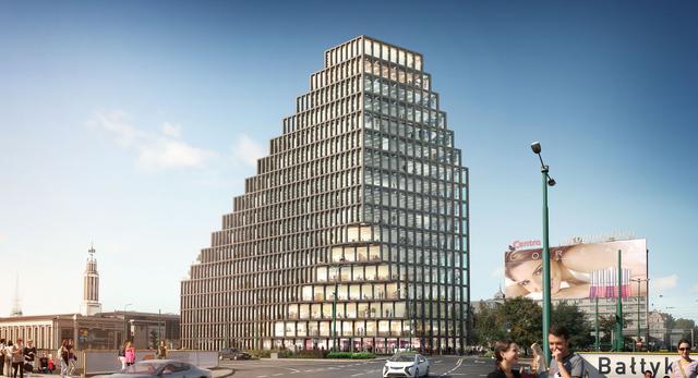 Nowy symbol architektury Poznania ma stanąć przy ul. Roosvelta w centrum Poznania. Jest to pierwszy budynek znanej na całym świecie pracowni MVRDV w Polsce