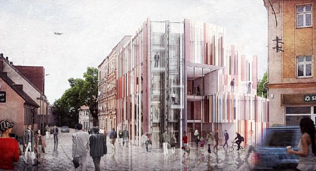 Architektura Wrocławia. Bryła Centrum Biblioteczno Kulturalnego – nowy projekt BXBstudio