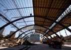 Architektura Katowic. Dźwigary z wyburzanej hali pod nowy Supersam hali trafią do Muzeum Śląskiego