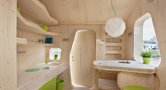 Mieszkanie dla studenta. Architekci ze studia Tengbom zaprojektowali mikro kawalerkę dla żaka