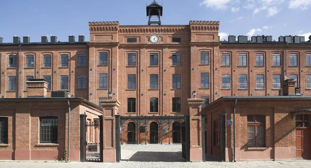 Lofty w dawnej fabryce Scheiblera w Łodzi