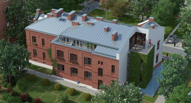 Centrum Praskie Koneser. Mamy nowe wizualizacje. Jak będzie wyglądała część mieszkaniowa w dawnej Wytwórni Wódek Koneser w Warszawie?