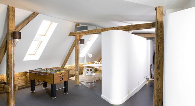 Loft na strychu