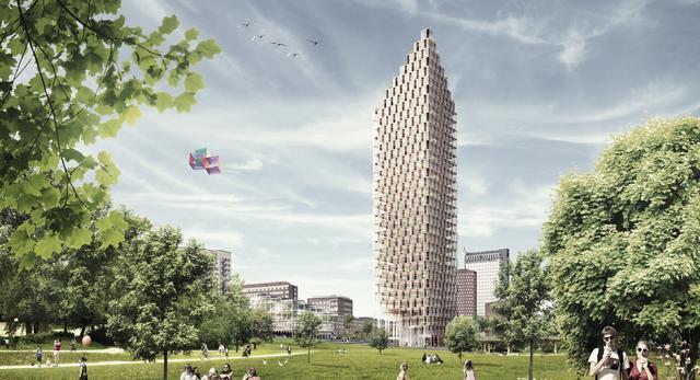 Drewniany Wieżowiec? Ekologia w szwedzkim wydaniu