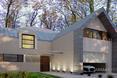 Modernizacja bryły domu w Piasecznie. Zobacz projekt przebudowy biura JABRAARCHITECTS
