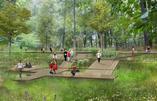 Rewitalizacja Parku Tysiąclecia w Zielonej Górze według BudCud. Prace koncepcyjne dobiegły końca.
