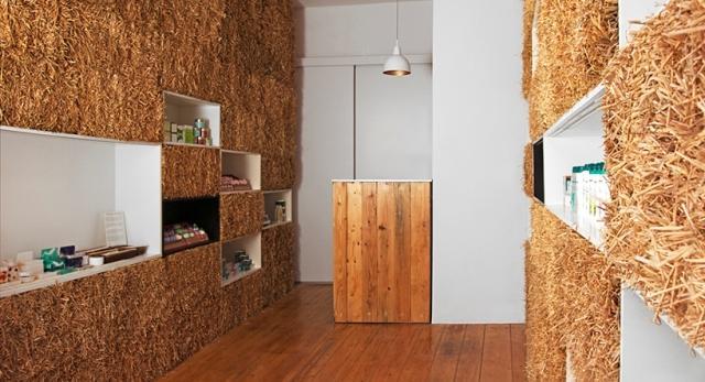 Architektura wnętrz. Słomiany butik, czyli pięknie, tanio i ekologicznie. Zobacz projekt biura Hornowski Design