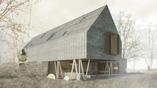 Czy bryła domu może pełnić funkcję ogrodzenia? Nowoczesny dom w Kołobrzegu Pracowni 111