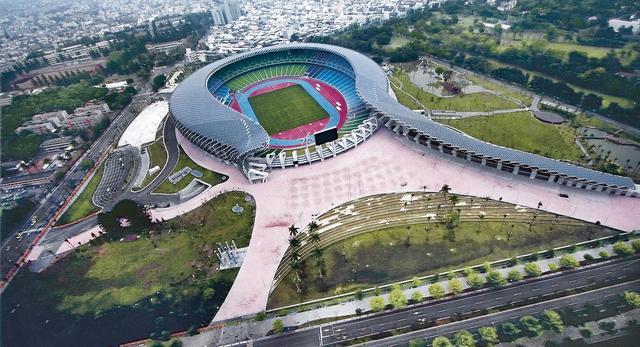 Stadion w Kaohsiung zasilany energią słoneczną