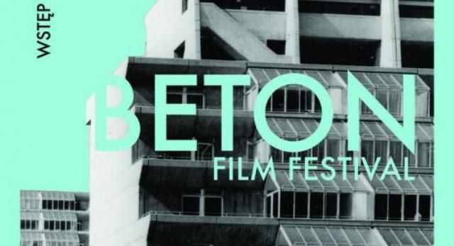 Plakat BETON Film Festival