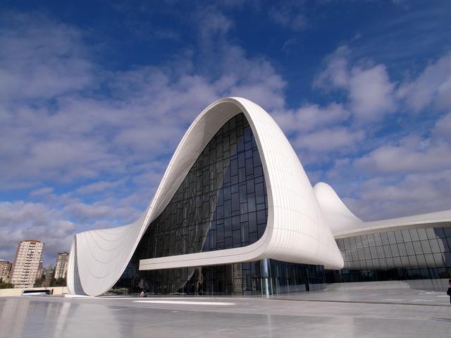 Sala koncertowa Heydar Aliyev Center w Baku