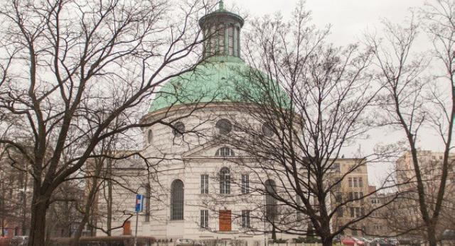 Kościół ewangelicko-augsburski św. Trójcy w Warszawie. Plac Małachowskiego