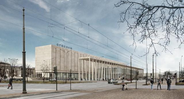 Pracownia architektoniczna DDJM proponuje nowy budynek na miejscu hotelu Cracovia