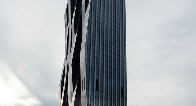 Nowy drapacz chmur w Wiedniu