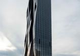 Najwyższy wieżowiec - biurowiec w Austrii został właśnie oddany do użytku. Wiedeń w cieniu czarnej wieży