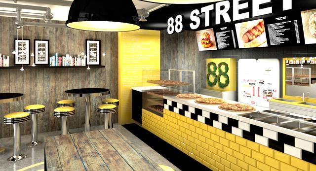 Amerykański bar w Krakowie, czyli 88th Street