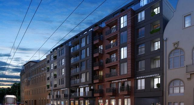 Rezydencja Dubois projektu APA Kuryłowicz & Associates