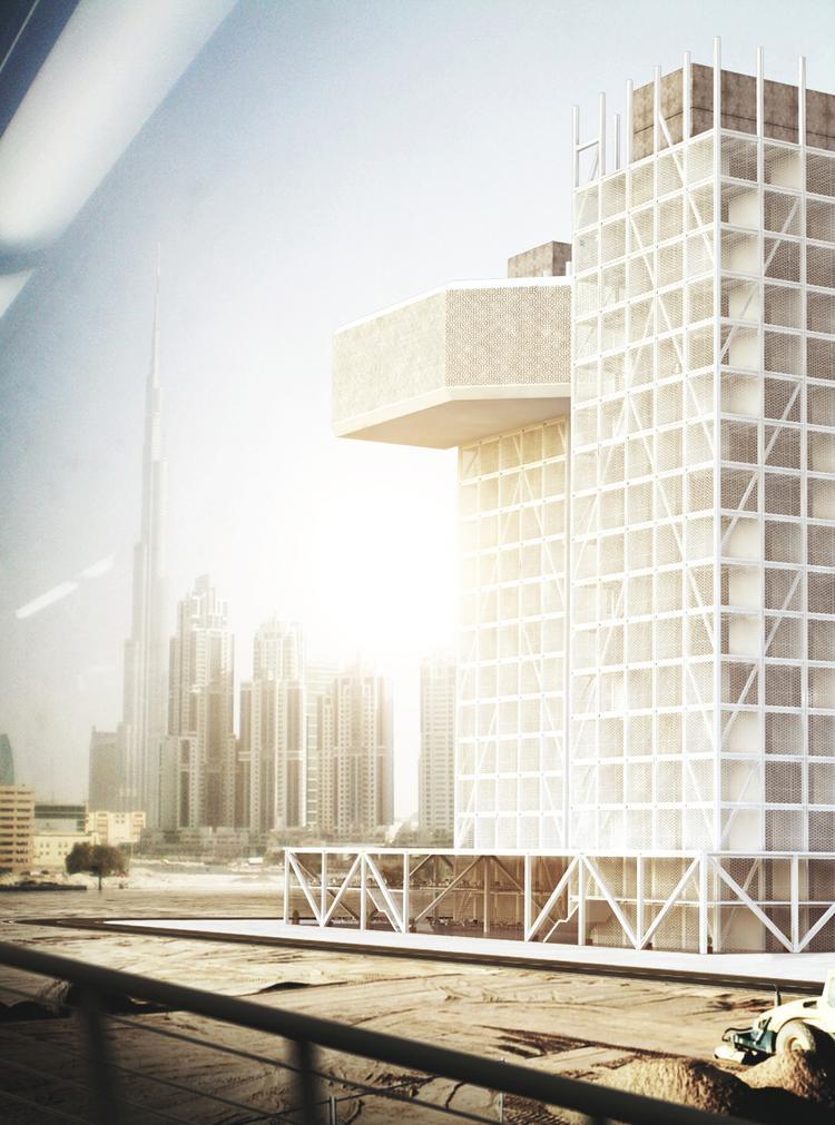 Wieżowiec w Dubaju, szkoła architektoniczna