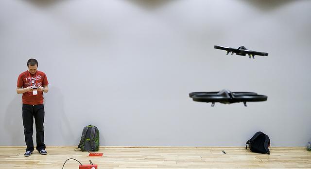 Makerland. Latające drony - największa atrakcja konferencji