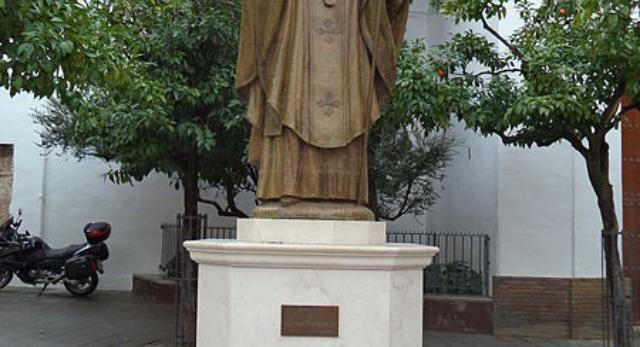 Bryła pomnika papieża Jana Pawła II, Sewilla