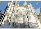 Mury Samaris: architektura secesji i komiks