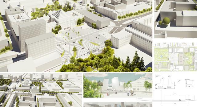 I nagroda w konkursie na koncepcję rozbudowy zabytkowego kampusu SGH