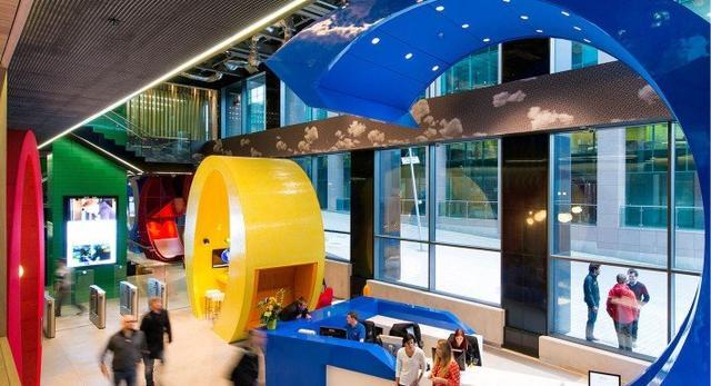 Biuro Google w Dublinie, A'Design