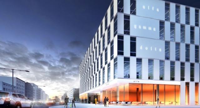 Nowy biurowiec - Enter w Gdyni