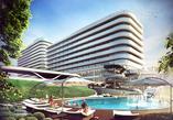 Bryła hotelu Baltic Park Molo